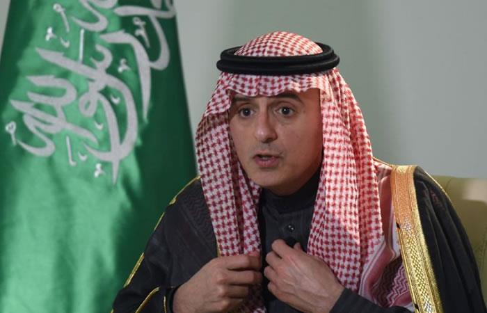 Adel al Yubeir, ministro de Exteriores saudí. Foto: AFP