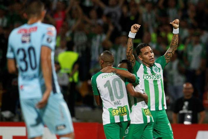 Atlético Nacional ganó ante Bolívar y lidera el grupo B