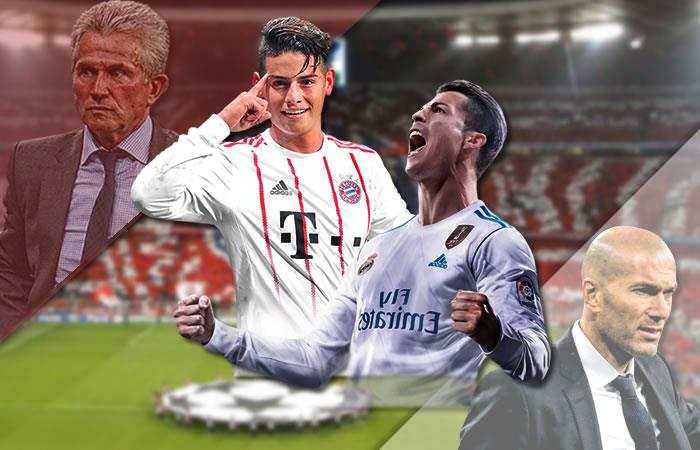 Bayern Múnich con James Rodríguez vs. Real Madrid: Transmisión EN VIVO