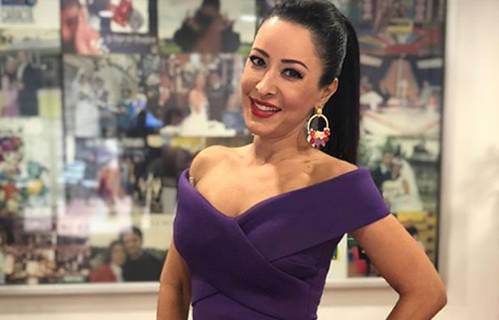 Flavia Dos Santos llega al escenario con