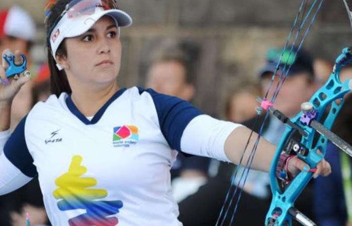 Sara López a la tercera ronda de la Copa del Mundo de tiro con arco