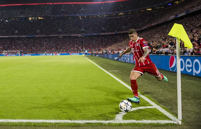 James Rodríguez. Foto: AFP