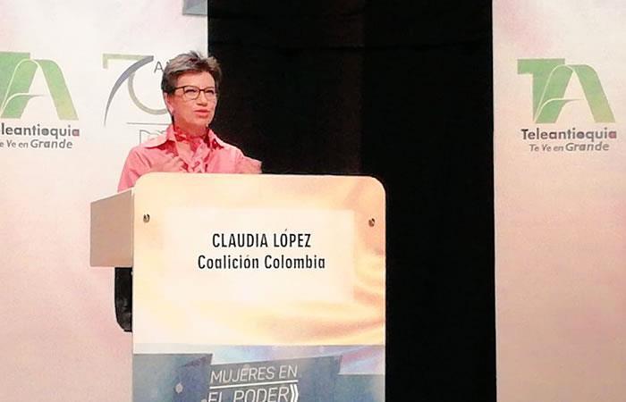 La congresista Claudia López mantiene su curul