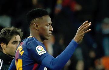 ¿Más problemas para Yerry Mina en el Barcelona?