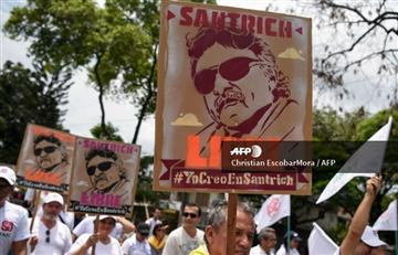 Santrich recibe apoyo y condecoración por parte activistas daneses