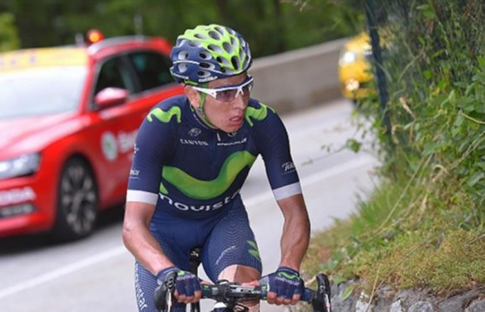 Dayer, hermano de Nairo Quintana, competirá en el Giro de Italia
