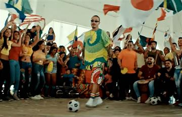 J Balvin reveló en los Latin Billboard su canción para el Mundial de Rusia