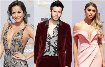 Latin Billboard: Así lucieron los colombianos en la alfombra roja