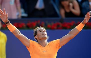 Rafael Nadal en la semifinal del torneo ATP de Barcelona