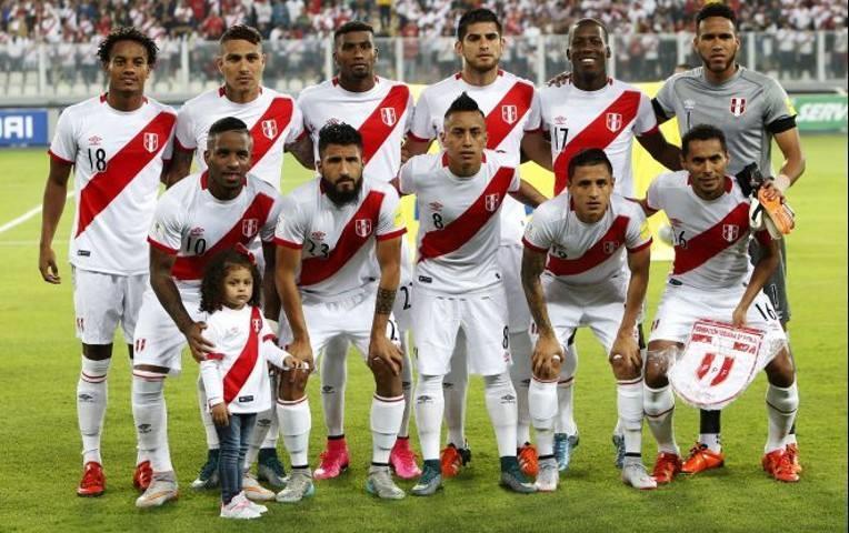 Selección Perú. Foto: AFP