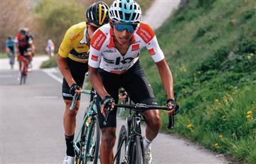 Egan Bernal sorprende al mundo y es subcampeón del Tour de Romandía
