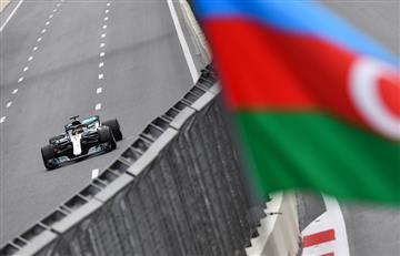 Lewis Hamilton se quedó con el Gran Premio de Azerbaiyán