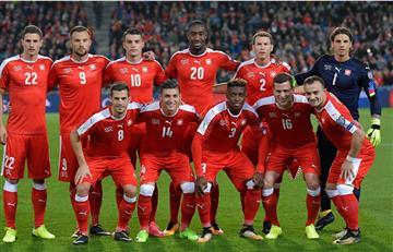 Selección de Suiza