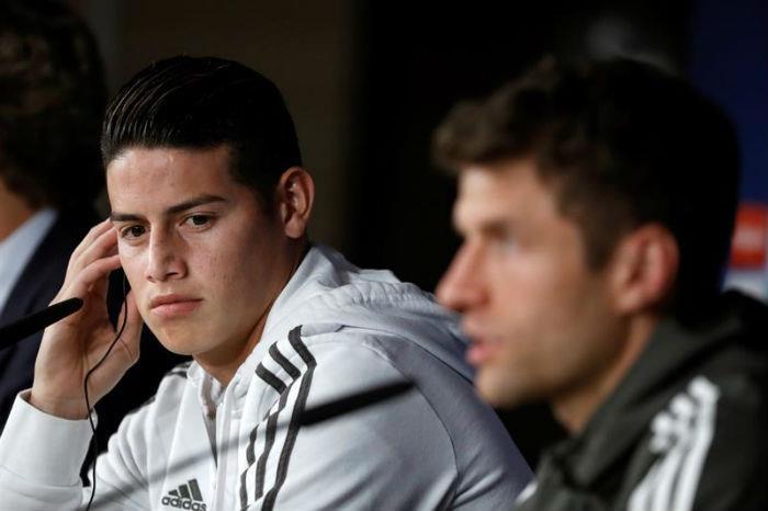 """James Rodríguez: """"No tengo ningún resentimiento hacia Zidane"""""""