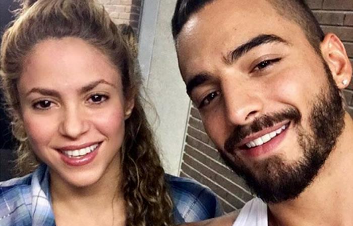 Maluma narró el tenso momento que vivió con Piqué junto a Shakira