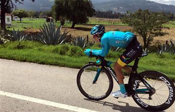 """Miguel Ángel López: """"En el Giro no estará Nairo pero estamos nosotros"""""""