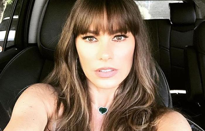 Sofía Vergara está en Colombia y no por una buena noticia