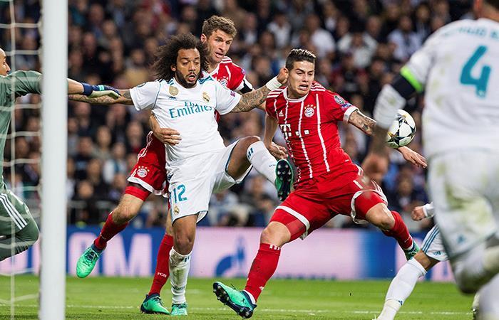 James Rodríguez cumplió con la ley del ex y anotó un golazo al Real Madrid