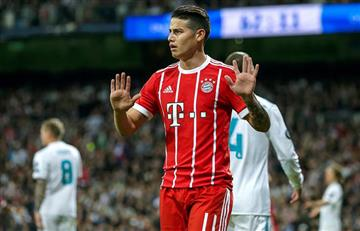 James Rodríguez revela por qué no celebró el gol ante el Real Madrid