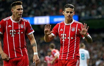 Ni el gol de James le sirvió al Bayern Múnich para clasificar ante el Real Madrid