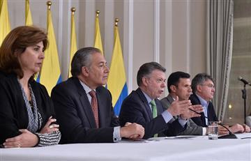 Santos afirma que el proceso de paz no está acabado