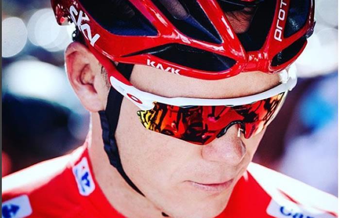 Chris Froome correrá el Giro bajo el peor escándalo