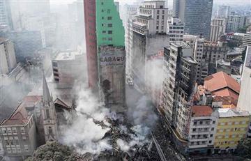 Sao Paulo: Colapso de edificio dejó al menos 44 desaparecidos