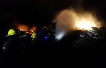 Ibagué: Una avioneta de la Policía se estrella y deja cuatro fallecidos