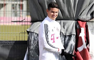 """James Rodríguez incluido en el equipo de """"fantasía"""" de la Champions League"""