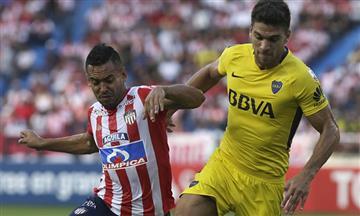 Junior no pudo contra Boca Juniors y se le complicó su clasificación