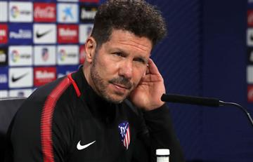 Atlético de Madrid jugará la final de la Europa League sin Simeone