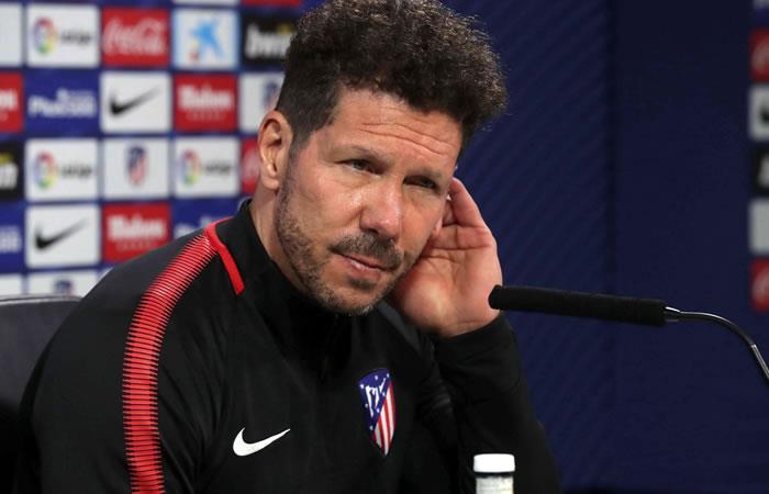 Atlético de Madrid jugará la final de la Europa League sin Simeone
