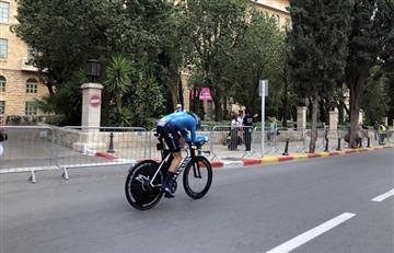 Carlos 'El bananito' Betancur el mejor colombiano en el etapa 1 del Giro de Italia