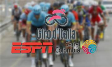 Giro de Italia: Horarios para ver la carrera por ESPN y Señal Colombia