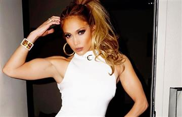 Jennifer López dejó ver por error el secreto para moldear su figura