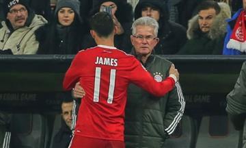 Jupp Heynckes revela por qué sacó a James Rodríguez contra el Real Madrid