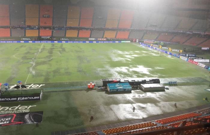 Liga Águila: El Medellín - América fue suspendió por tormenta eléctrica