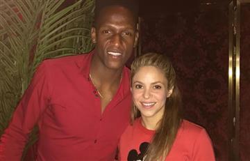 Shakira y su emotivo encuentro con Yerry Mina