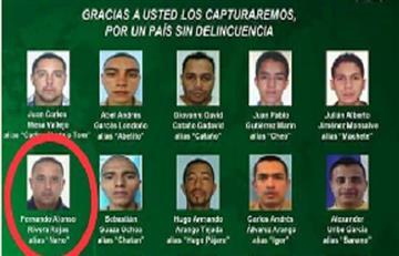 Fue capturado alias 'Nano', cabecilla de la banda 'La 33' en Medellìn