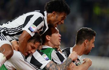 Juventus de Cuadrado gana ante el Bolonia y acaricia un nuevo título