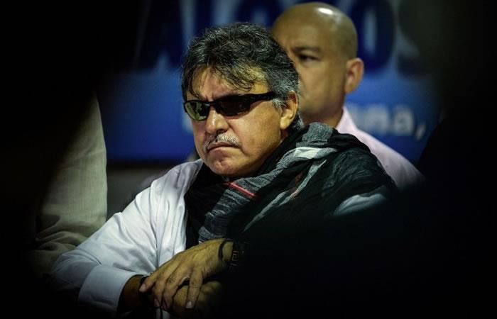 Jesús Santrich. Foto. AFP.