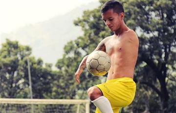 Santiago Arroyabe debutó en la Liga Colombiana pese a tener solo un brazo