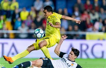 Villarreal de Carlos Bacca gana ante el Valencia de Jeison Murillo