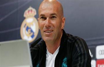Zidane lanzó significativo comentario al Barcelona en la previa del Clásico