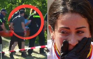 Mariana Pajón sufrió fuerte caída en el Mundial de BMX