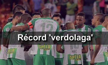 Atlético Nacional y el increíble récord que hizo en la Liga Águila