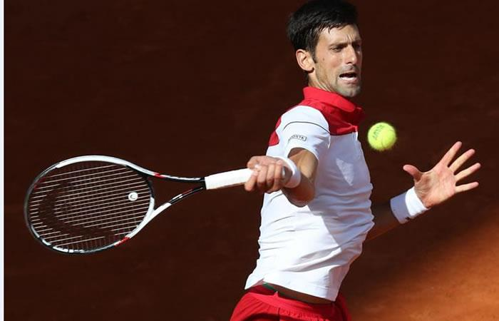 Djokovic ganó y se clasificó a la siguiente fase del torneo de Madrid