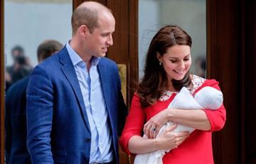 El príncipe Guillermo y Catalina publican las primeras imágenes de su tercer hijo