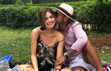 Fredy Guarín le baila a los envidiosos y Sara Uribe se deleita