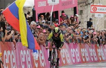 """Esteban Chaves: """"Ahora sí empezó el Giro de Italia"""